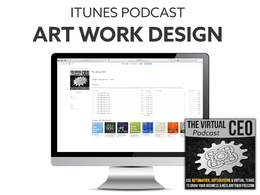 "Create itunes podcast art work or ""cover art"""