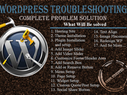 Troubleshoot all wordpress problems rapidly
