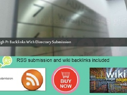 Submit your site to over 350 High PR directories plus bonus
