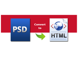 Convert PSD To HTML, PSD to Responsive Bootstrap home page