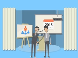Create such Presentation type Explainer Video | Demo Video | Promotion Video