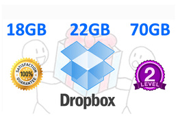 Expand your Dropbox space upto 22 GB