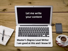 Provide a 550 word professional quality article / blog post- Master's Level Writer
