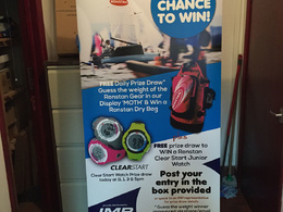 Design, print and deliver you a pop-up banner