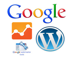 Install and setup Google Analytics and Webmaster Tools to your WP website