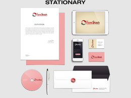 Design a set of professional Stationary items with unlimited working revisions