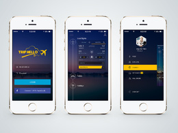 Professional Quality Mobile App Screens Design for Android/iOS