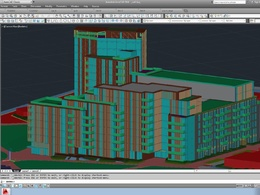 Make a 3d model from your 2d drawings in AutoCAD 3D