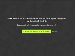 Create an amazing online survey for your company