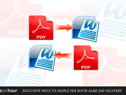 Convert your PDF to an editable Word document