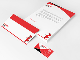 Design your Stationery (business card+letterhead+envelope )