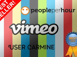 Send you real 3000 vimeo views or 300 likes or 200 Subscribers guaranteed