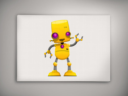 Create an awesome robot for your mascot