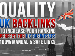 Promote your business website on trusted UK websites - 30 SEO backlinks, 100% manual