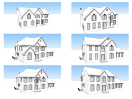 Model your house in Sketchup