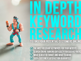 Provide in depth SEO Keyword research for your Website