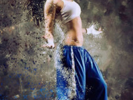 Create a dispersion effect on your photographs