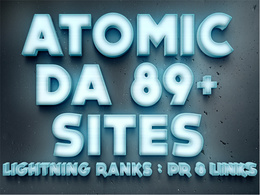 Post at Atomic 89+ DA Sites : Amaze Your Clients On Lighting Rankings - PR 8 Links