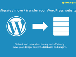 Migrate / move / transfer your WordPress website with zero downtime