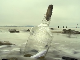 Will create & send a Personalised 'Message in a Bottle' Gift (UK ONLY)