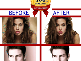 Remove background of 10 images - clipping path