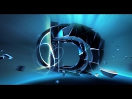 Create animated logo intro full HD (1080p)