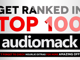 Rank you top 100 on Audiomack ranks charts