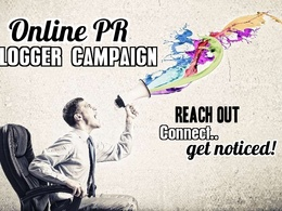 Create an online Blogger PR campaign