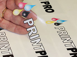 Print custom stickers or labels
