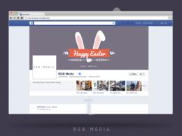 Design company social media presence