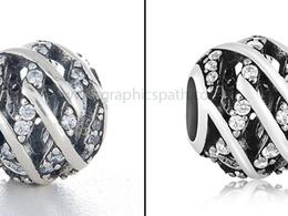 Jewelry photo retouching of 10 images (Basic)