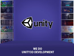 Develop games and apps in unity