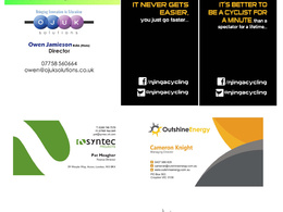 Design your single sided business card