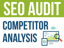 Generate an SEO report with competitor analysis