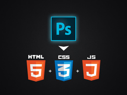 Convert a PSD to responsive HTML5 + CSS3 (PSD to HTML5 ) + JS (jQuery)