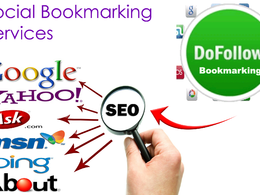 Manually submit your website to Top 20 high pr social bookmarking sites for