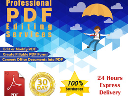 Design interactive PDF form - fillable and editable