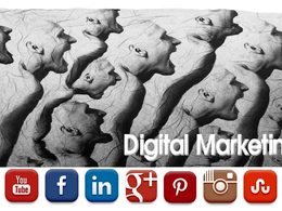 "Set up your Social Media Pages to grow your ""Digital Marketing"""