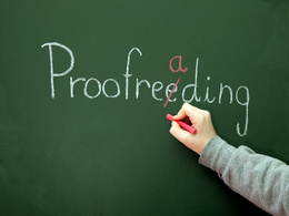 Proofread your document whether it's in English or Italian (600-700 words)