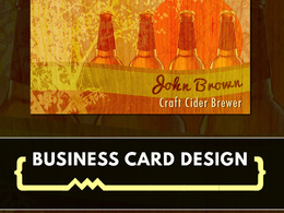 Design bespoke, professional, double-sided business cards