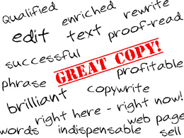 Expertly edit & proof-read your text / website page + improve / rewrite the copy