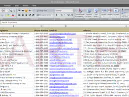 Research and compile contact details for 100 companies