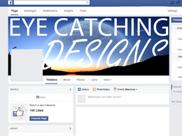 Design a professional  Facebook banner to make you/your company stand out