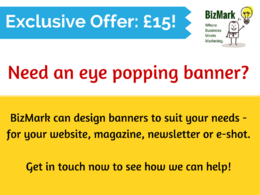 Create a banner for your website, magazine or newsletter