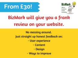 Write frank website reviews and give suggestions on how you can improve it