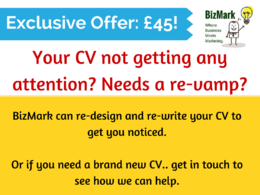 Rewrite and reformat your CV and covering letter