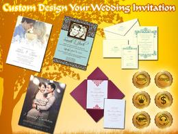Custome Design Your Wedding Invitation