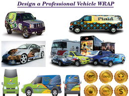 Design a professional Vehicle wrap / livery