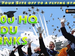Give you 300 HQ EDU backlinks to boost your Page Rank