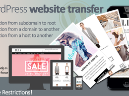 Transfer your Wordpress website